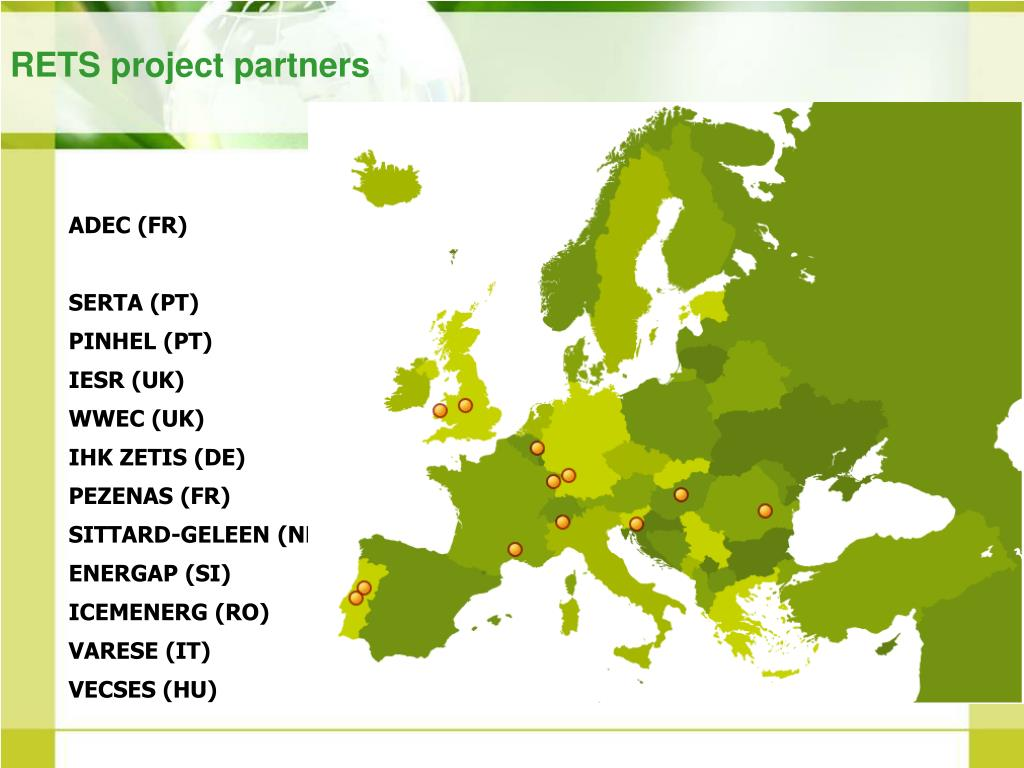 RETS project partners