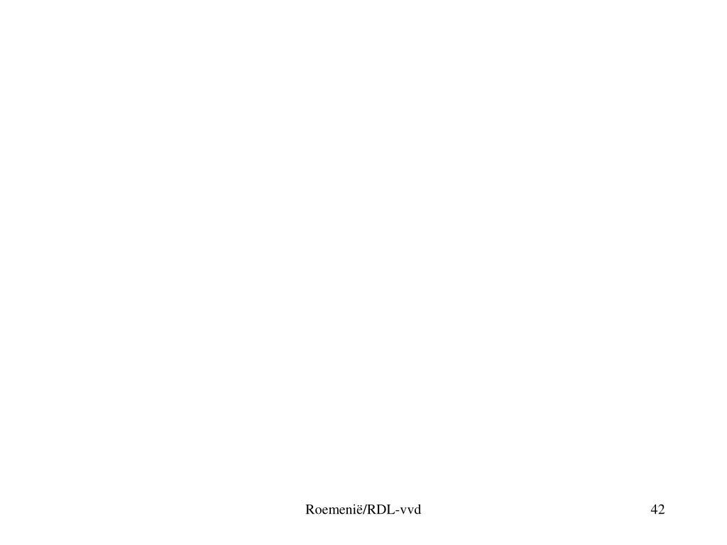Roemenië/RDL-vvd