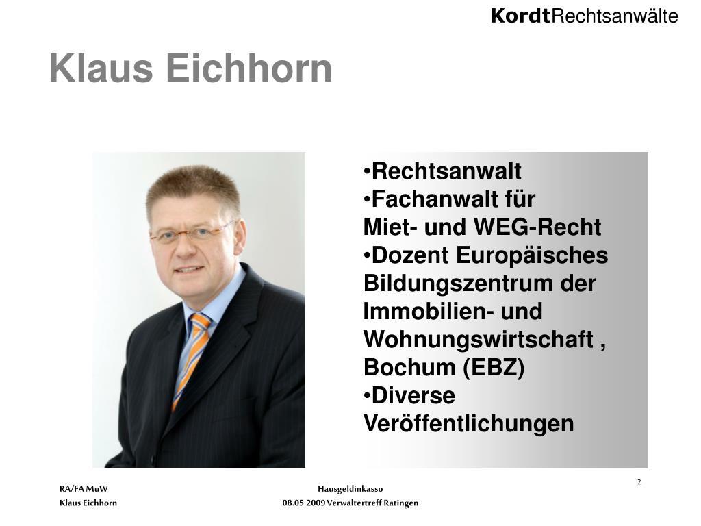 Klaus Eichhorn