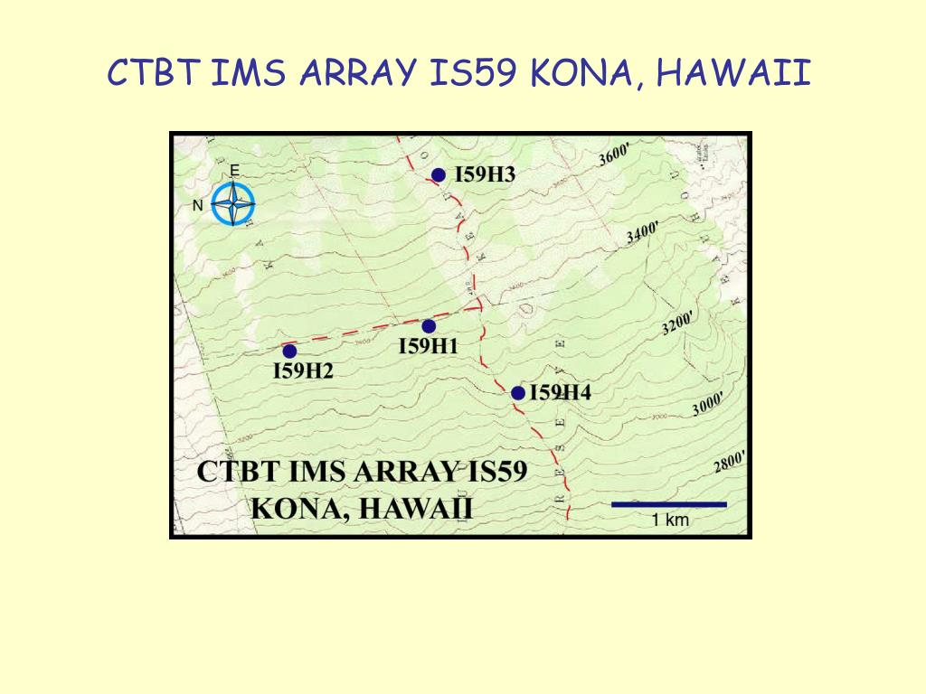 CTBT IMS ARRAY IS59 KONA, HAWAII