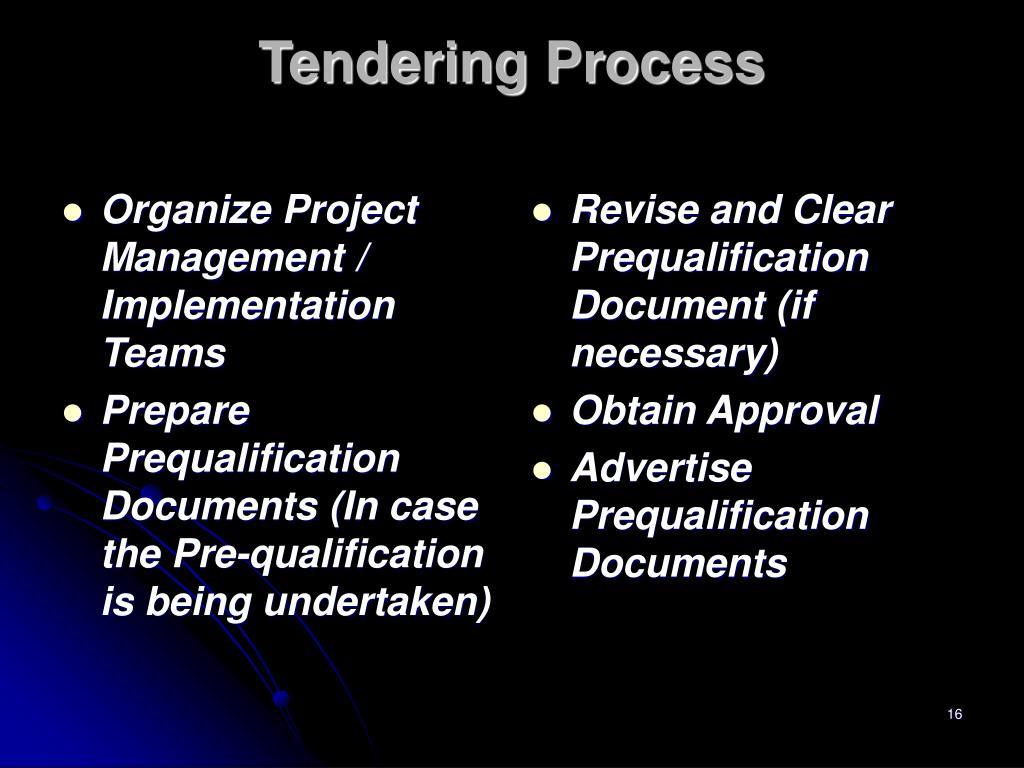 Organize Project Management / Implementation Teams