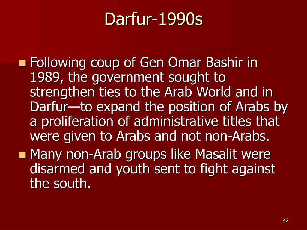 Darfur-1990s