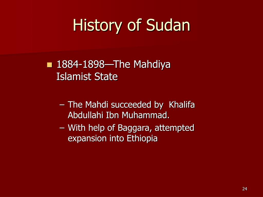 History of Sudan