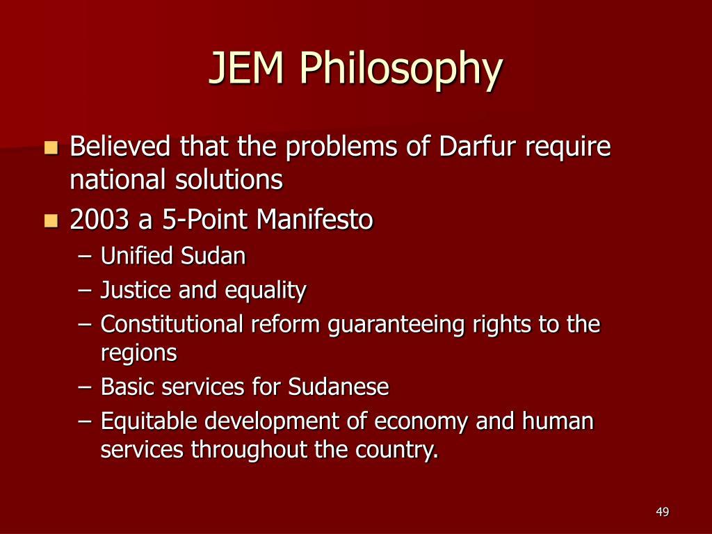 JEM Philosophy