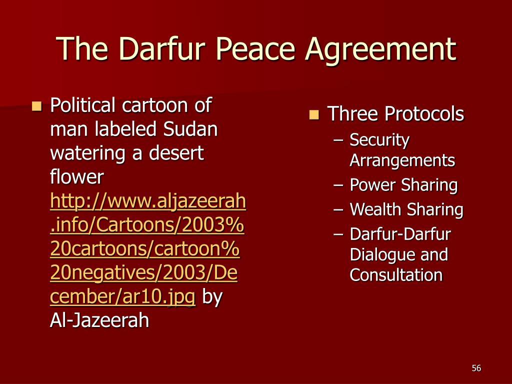 The Darfur Peace Agreement