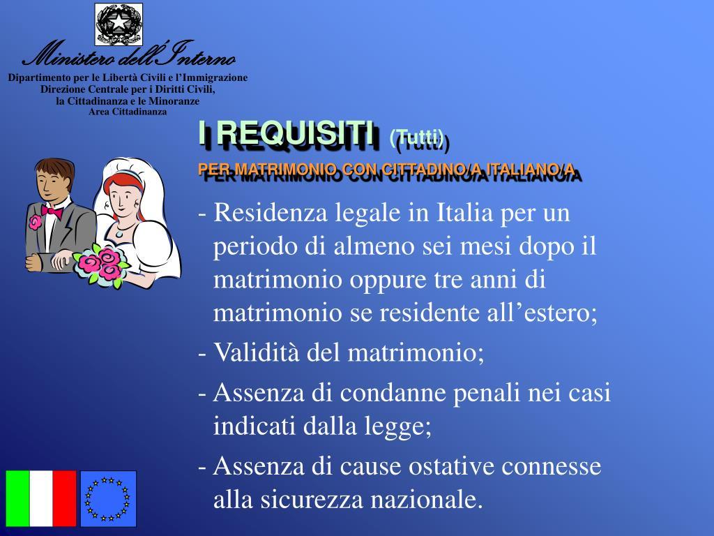 Matrimonio In Italia Con Cittadino Americano : Ppt la cittadinanza italiana powerpoint presentation