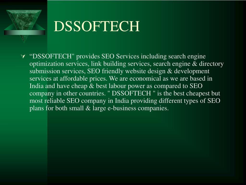 DSSOFTECH