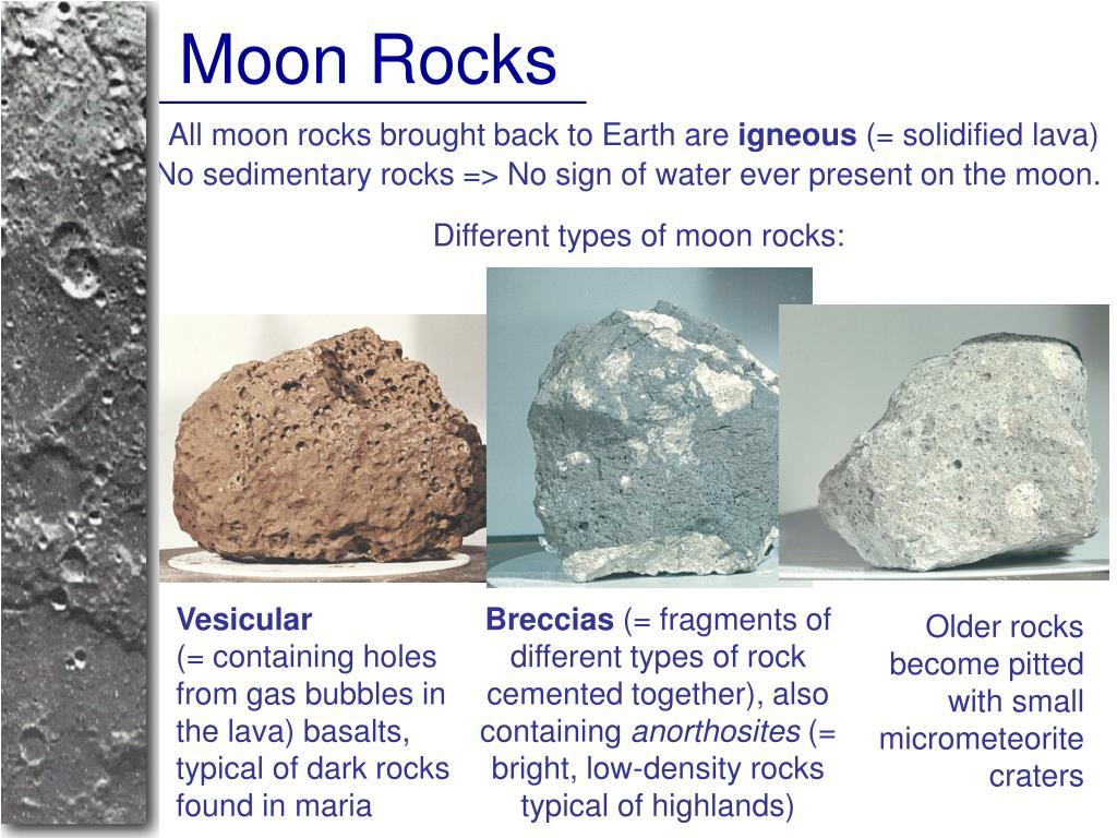 Moon Rocks