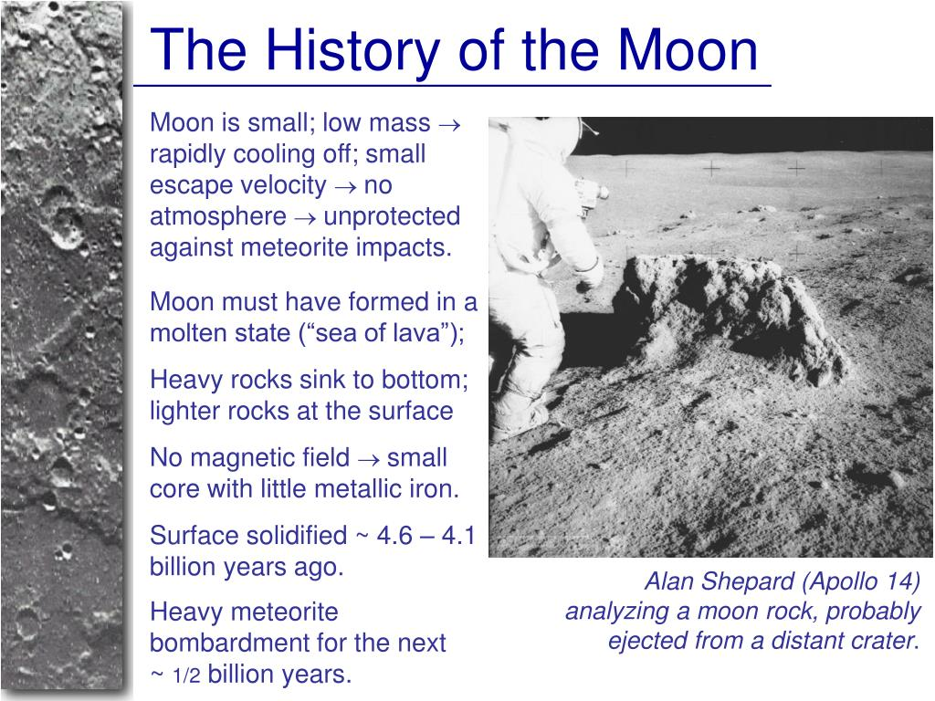 The History of the Moon