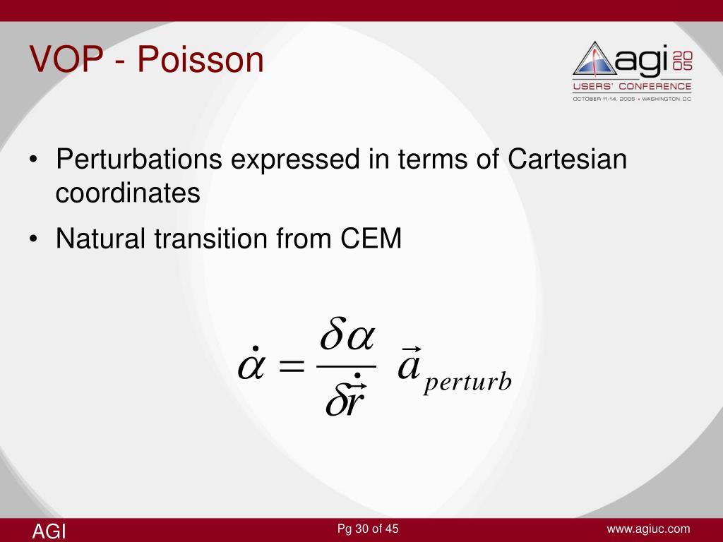 VOP - Poisson