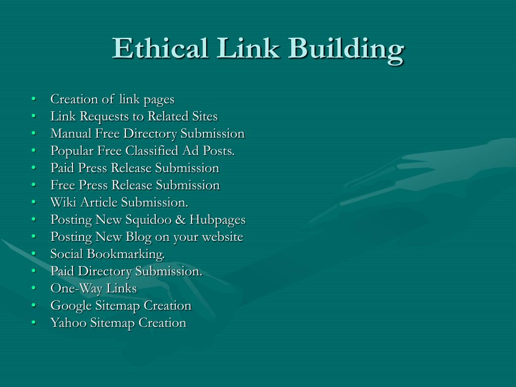 Ethical Link Building