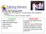 training delivery1