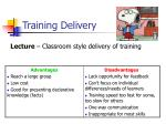 training delivery6