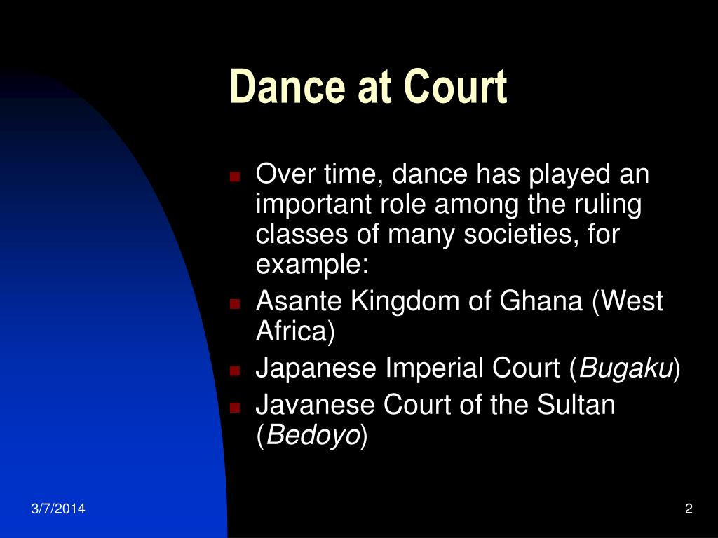 Dance at Court