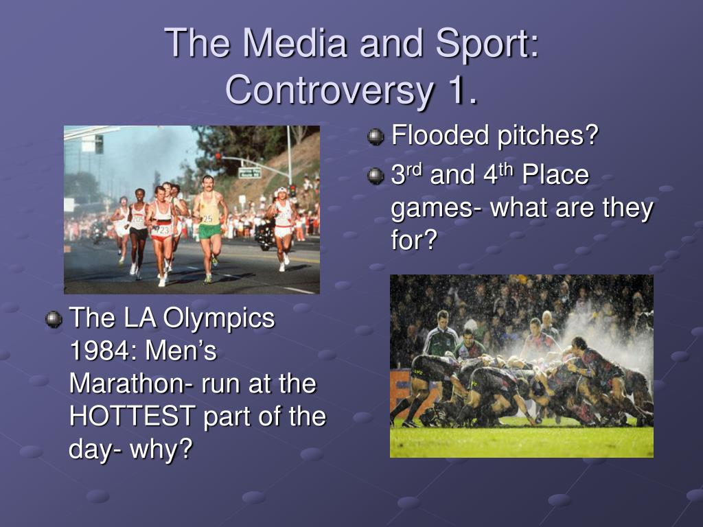 relationship between sport and the media