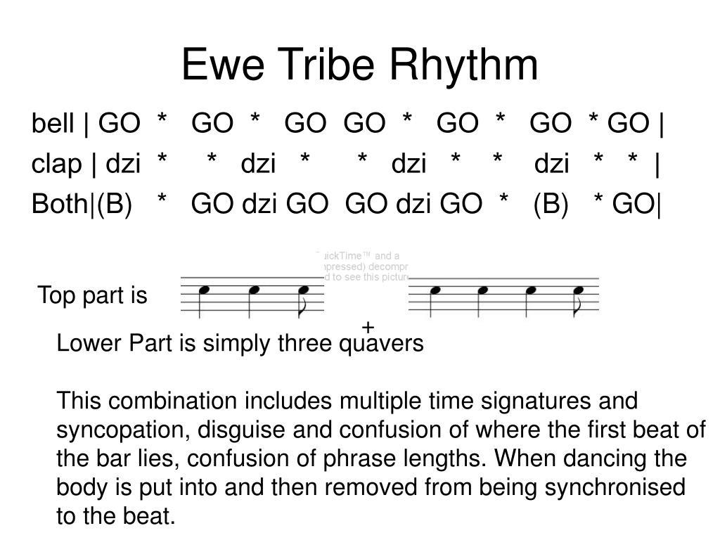 Ewe Tribe Rhythm