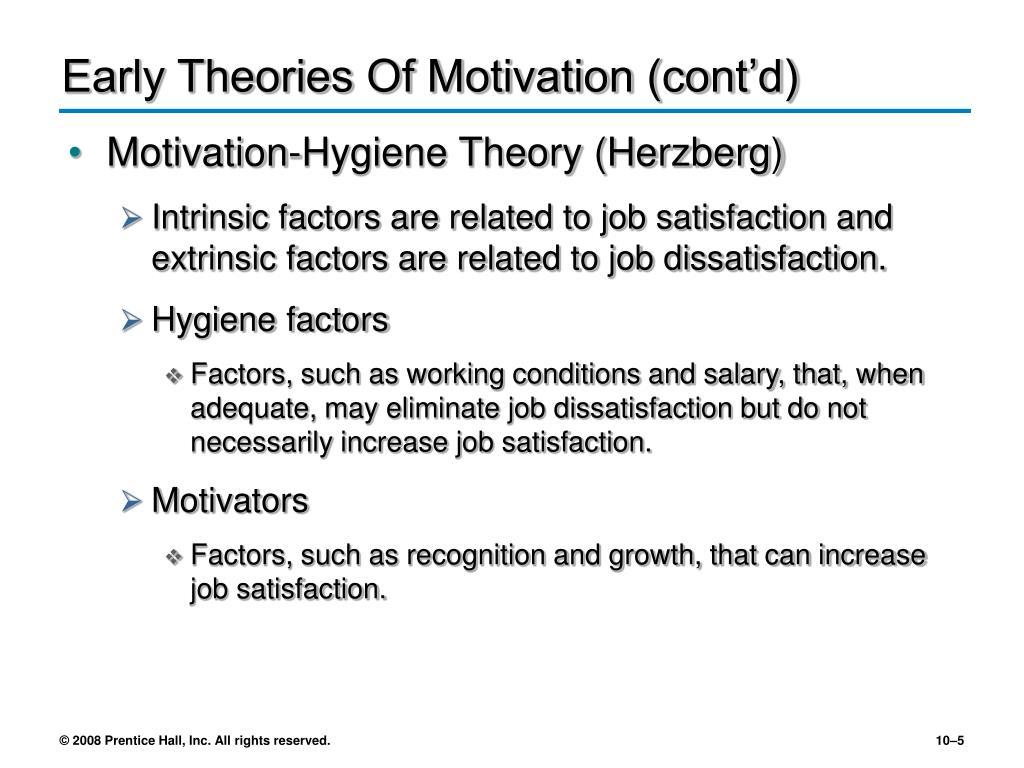 motivation and prentice hall