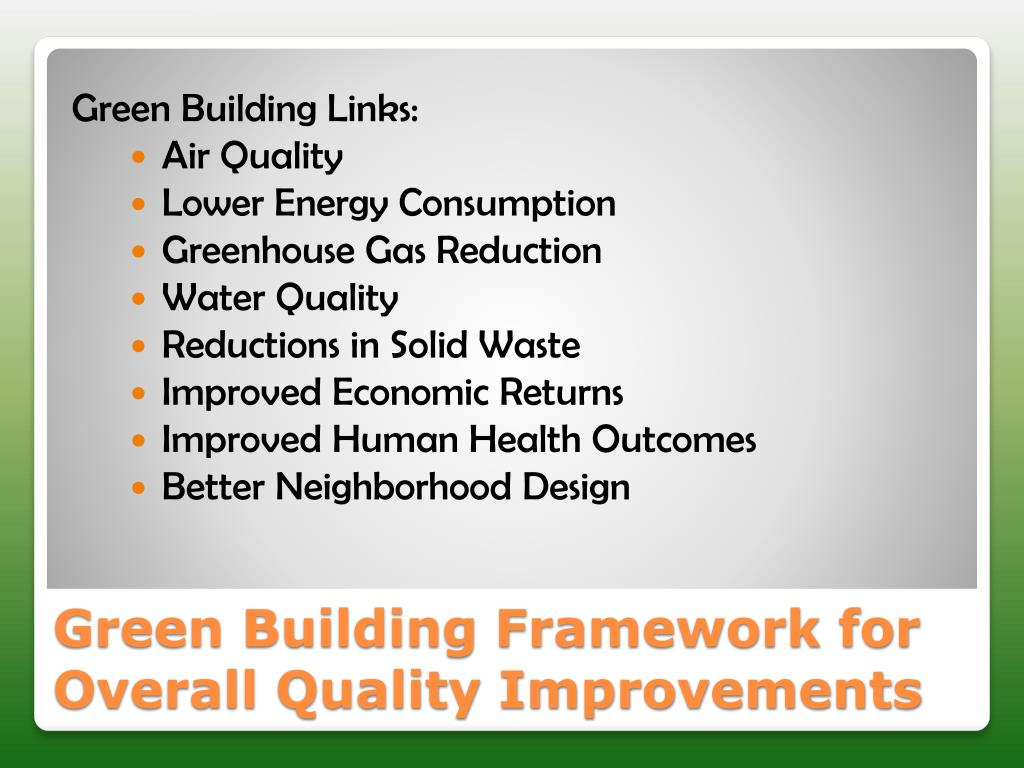 Green Building Links:
