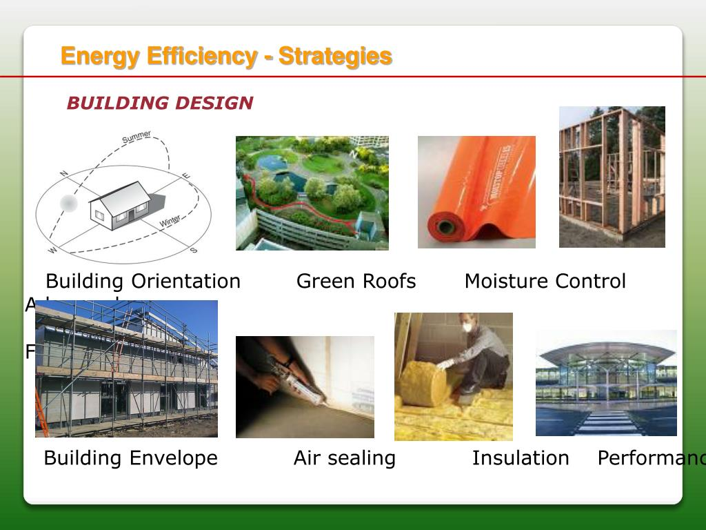 Energy Efficiency - Strategies