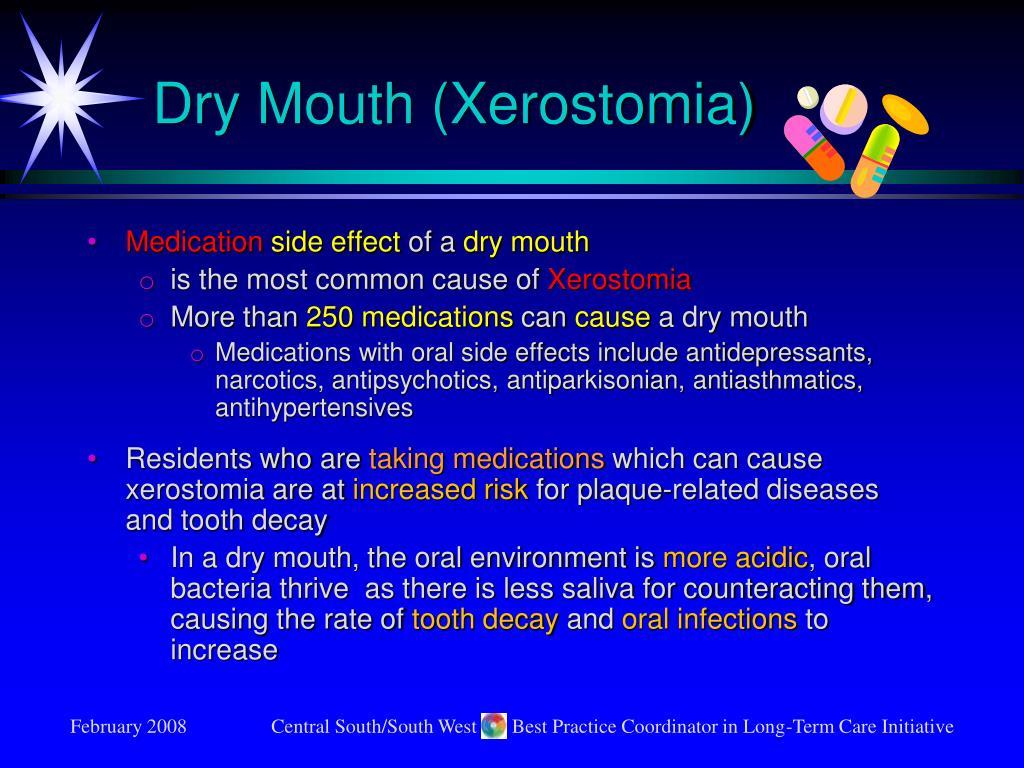 Dry Mouth (Xerostomia)