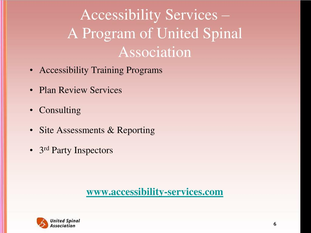 Accessibility Services –