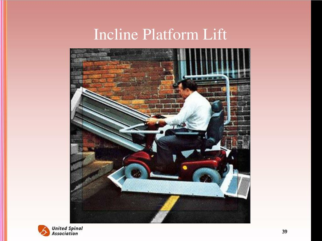 Incline Platform Lift