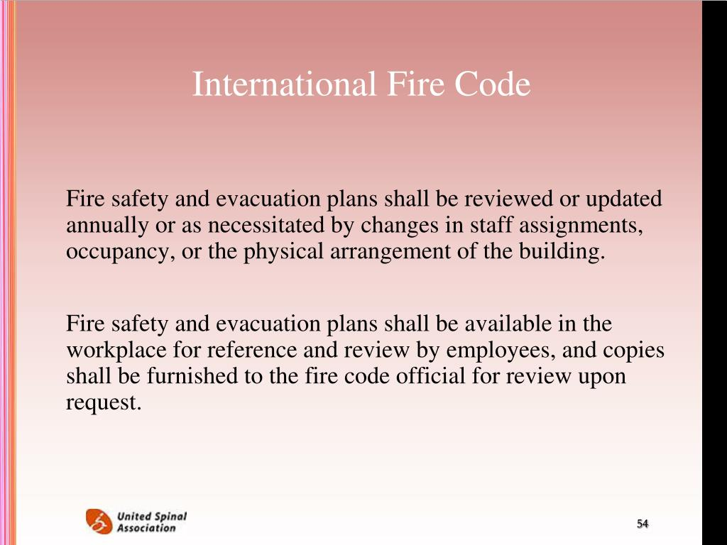 International Fire Code