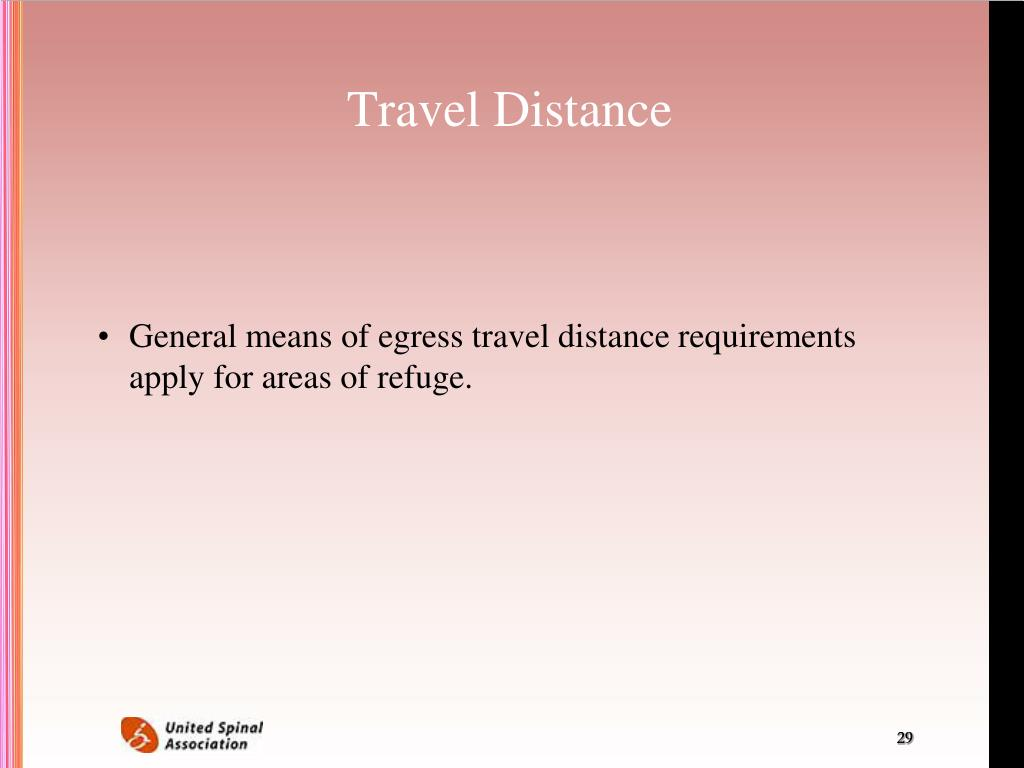 Travel Distance
