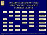 building systems of care strategically managing complex change