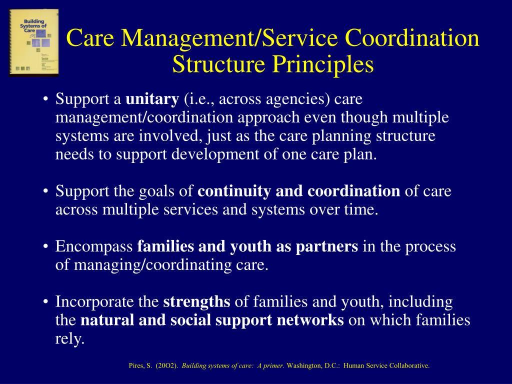 Care Management/Service Coordination