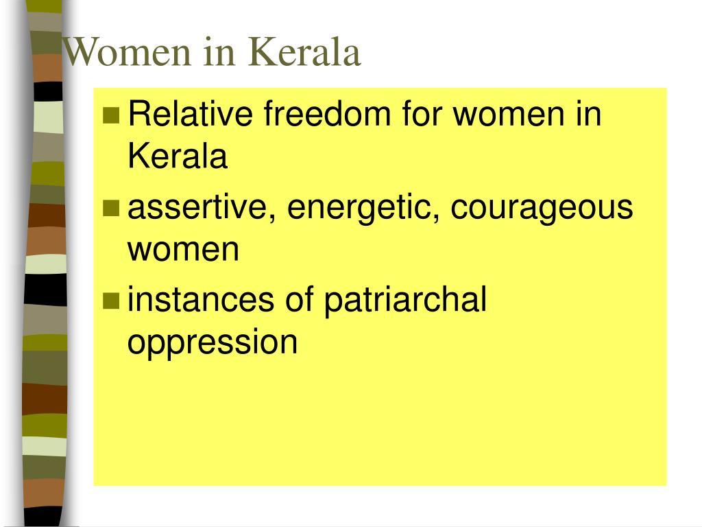 Women in Kerala