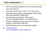 policy implications 1
