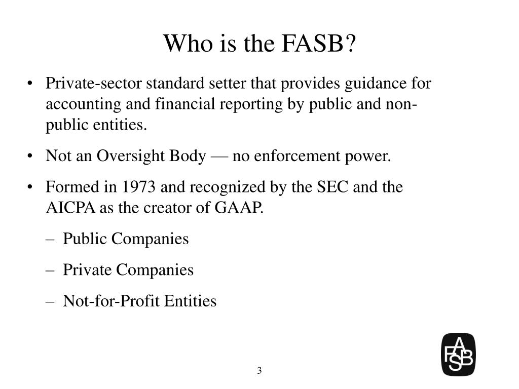 Who is the FASB?