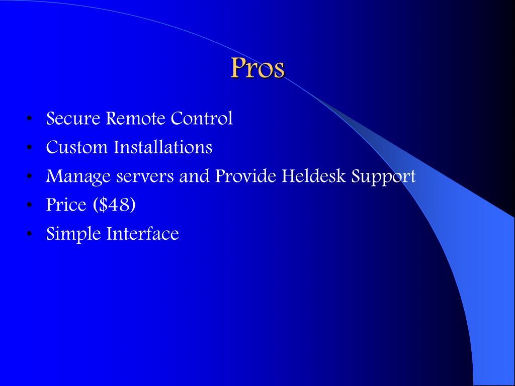 Secure Remote Control