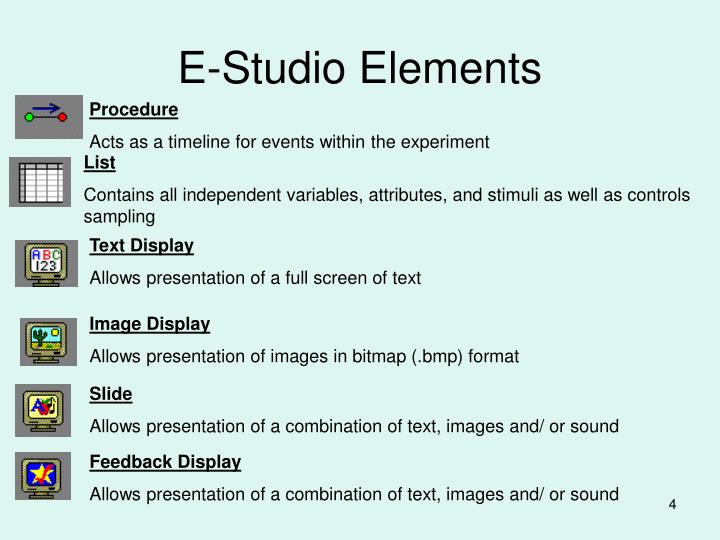 E-Studio Elements