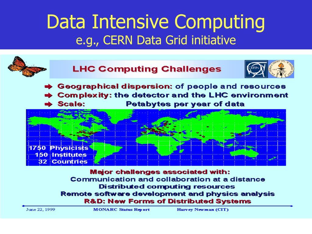 Data Intensive Computing