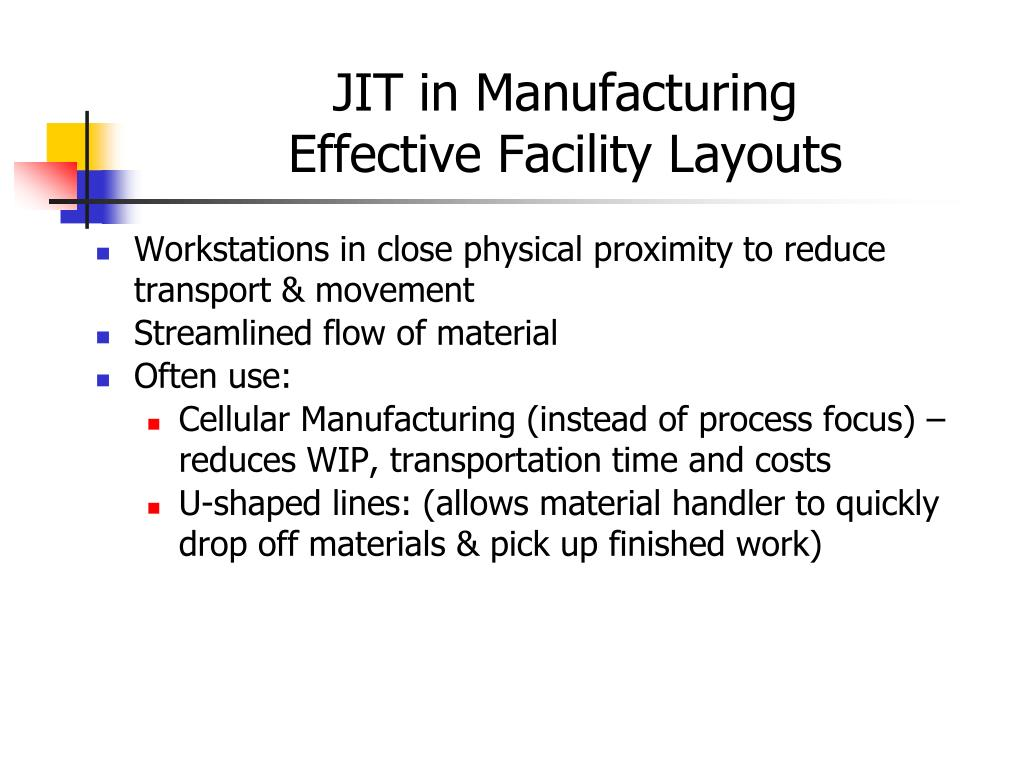 jit just in time manufacturing pdf