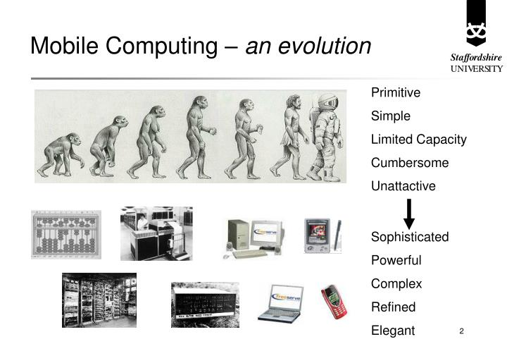 Mobile computing an evolution