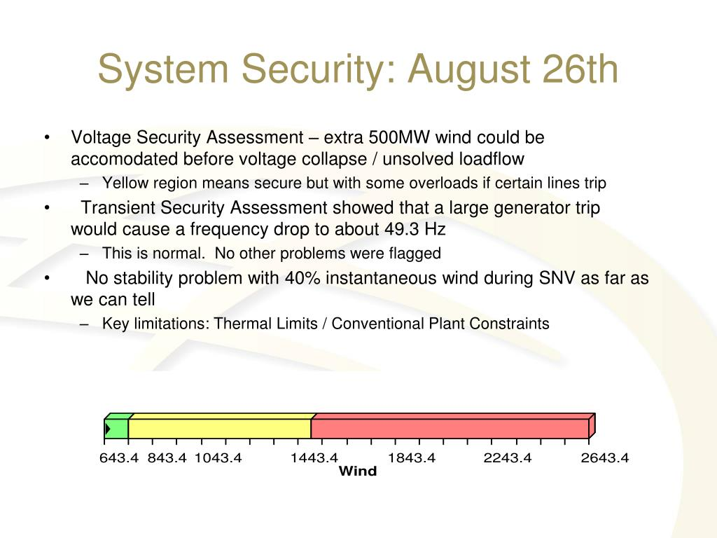 System Security: August 26th