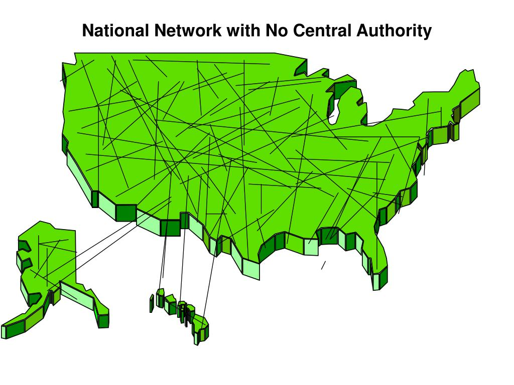 National Network with No Central Authority