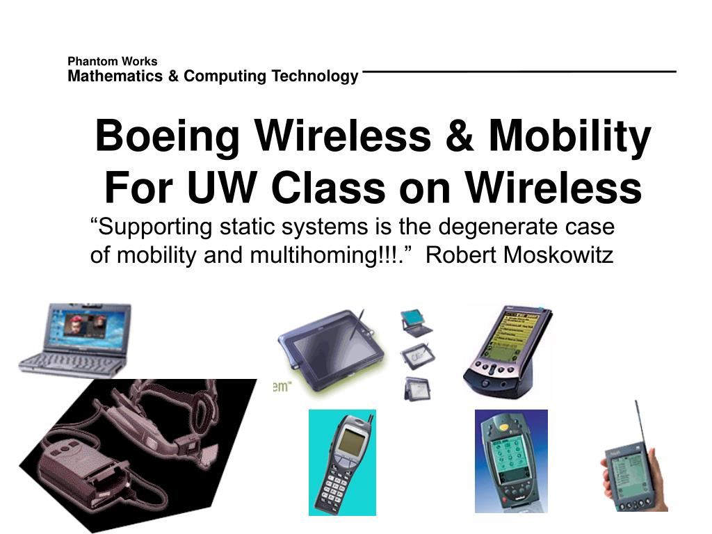 Boeing Wireless & Mobility
