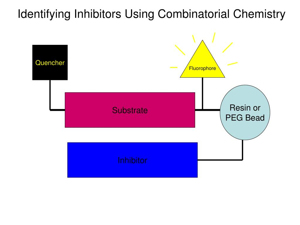 Identifying Inhibitors Using Combinatorial Chemistry