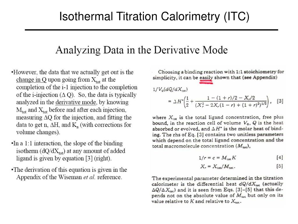 Isothermal Titration Calorimetry (ITC)