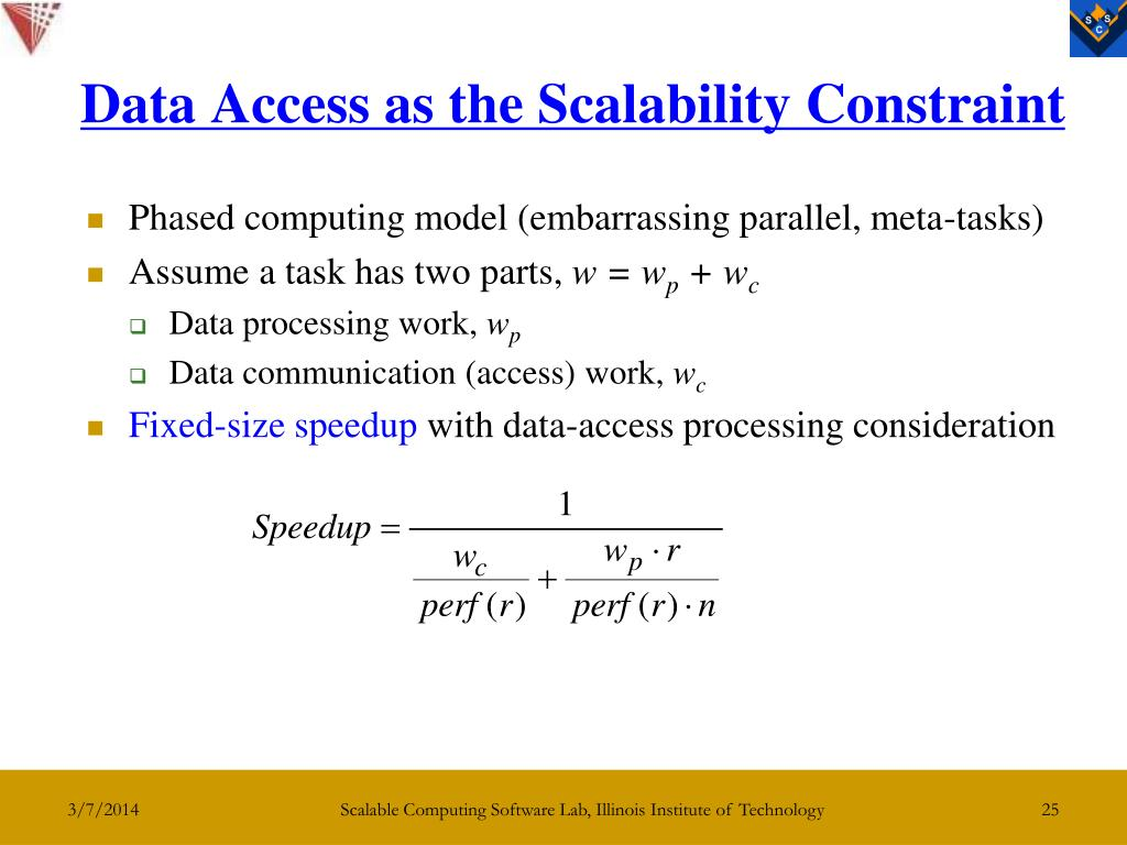 Data Access as the Scalability Constraint