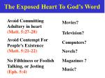 the exposed heart to god s word10