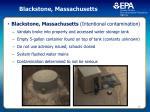 blackstone massachusetts