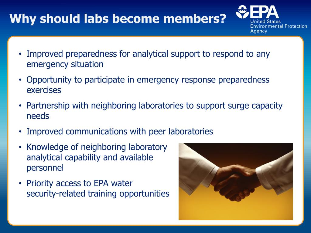 Why should labs become members?