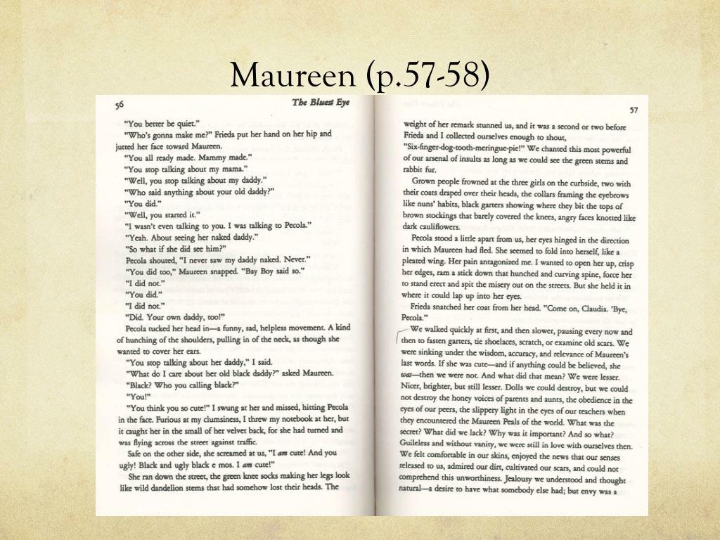 Maureen (p.57-58)