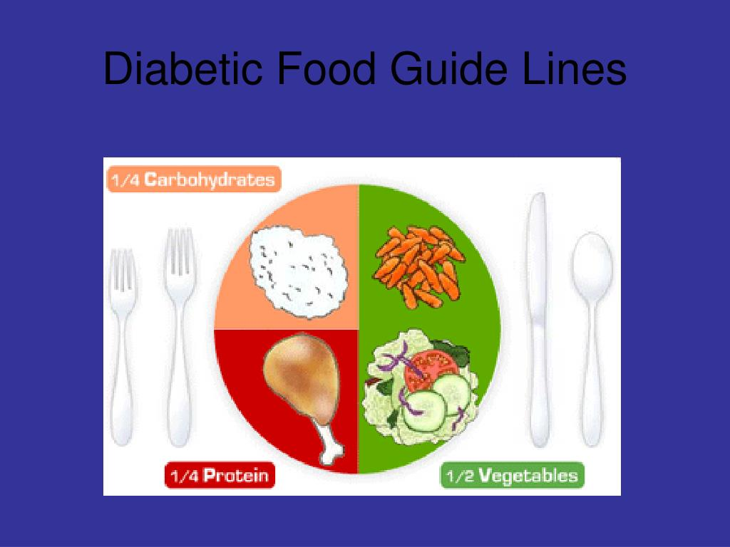 Diabetic Food Guide Lines