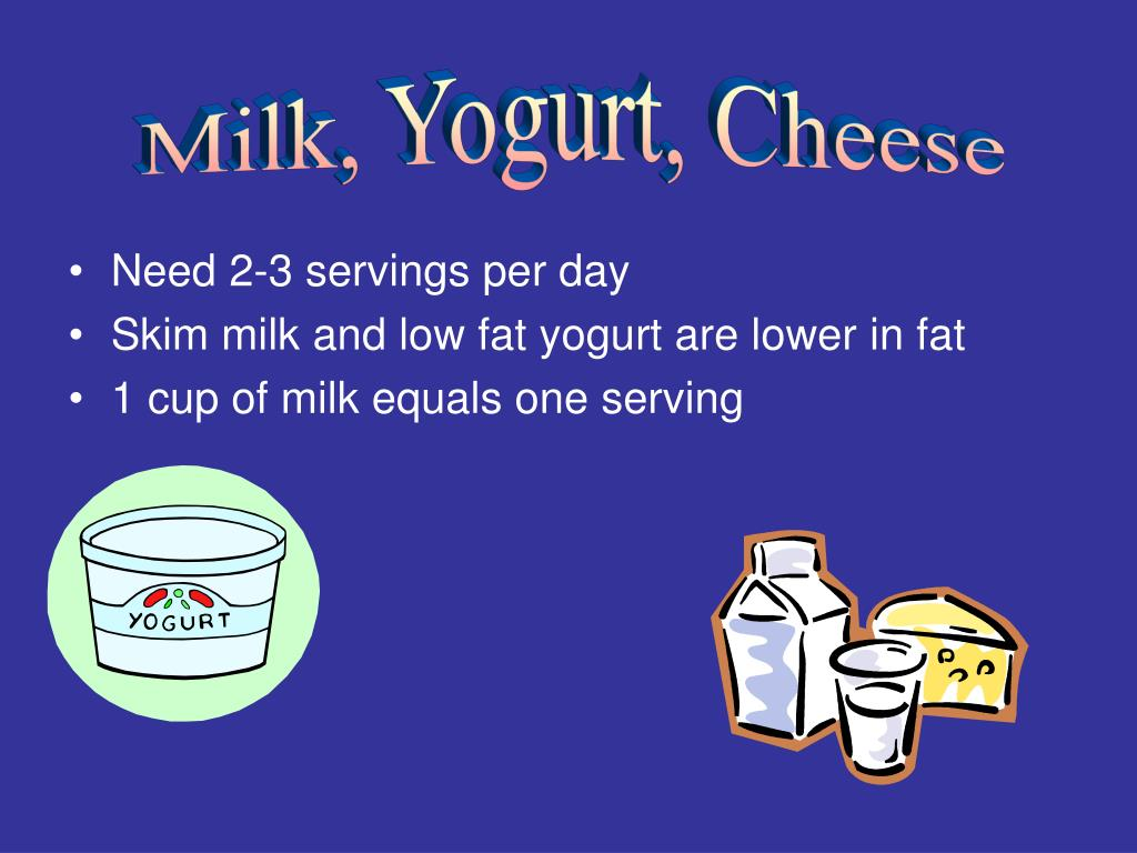 Milk, Yogurt, Cheese